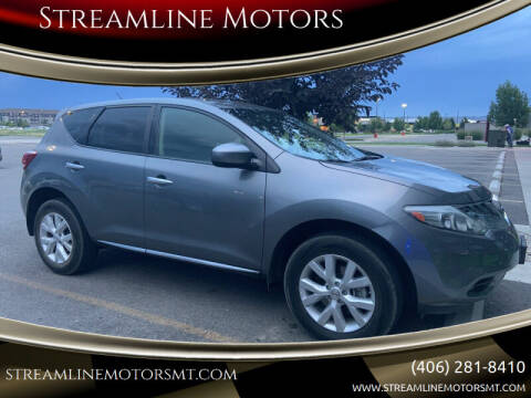 2014 Nissan Murano for sale at Streamline Motors in Billings MT