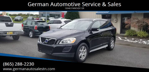 2011 Volvo XC60 for sale at German Automotive Service & Sales in Knoxville TN
