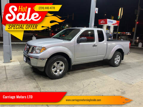 2010 Nissan Frontier for sale at Carriage Motors LTD in Ingleside IL