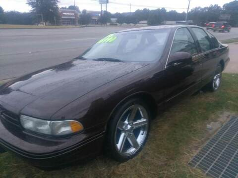 1996 Chevrolet Caprice for sale at AUTOPLEX 528 LLC in Huntsville AL