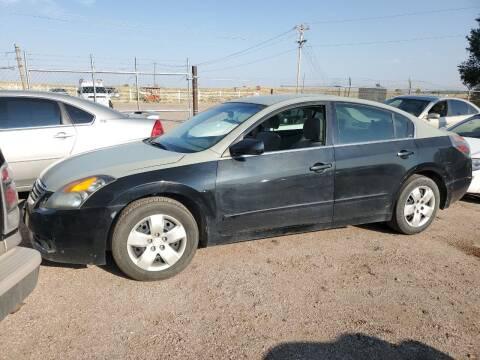 2009 Nissan Altima for sale at PYRAMID MOTORS - Pueblo Lot in Pueblo CO