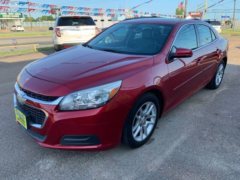 2014 Chevrolet Malibu for sale at Rock Motors LLC in Victoria TX