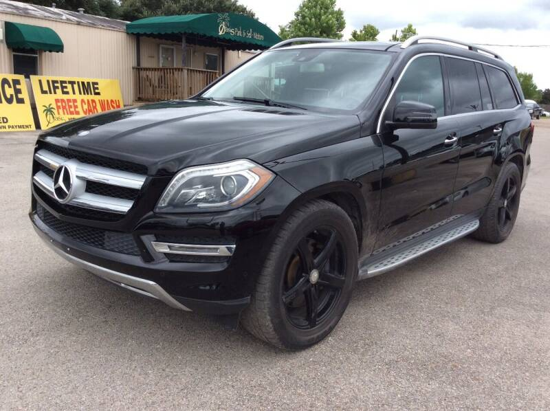 2013 Mercedes-Benz GL-Class for sale at OASIS PARK & SELL in Spring TX