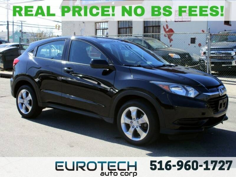 2017 Honda HR-V for sale at EUROTECH AUTO CORP in Island Park NY