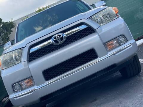 2010 Toyota 4Runner for sale at HIGH PERFORMANCE MOTORS in Hollywood FL