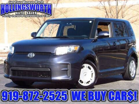 2012 Scion xB for sale at Hollingsworth Auto Sales in Raleigh NC