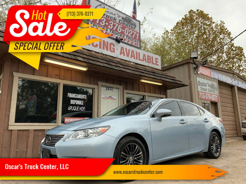 2013 Lexus ES 350 for sale at Oscar's Truck Center, LLC in Houston TX
