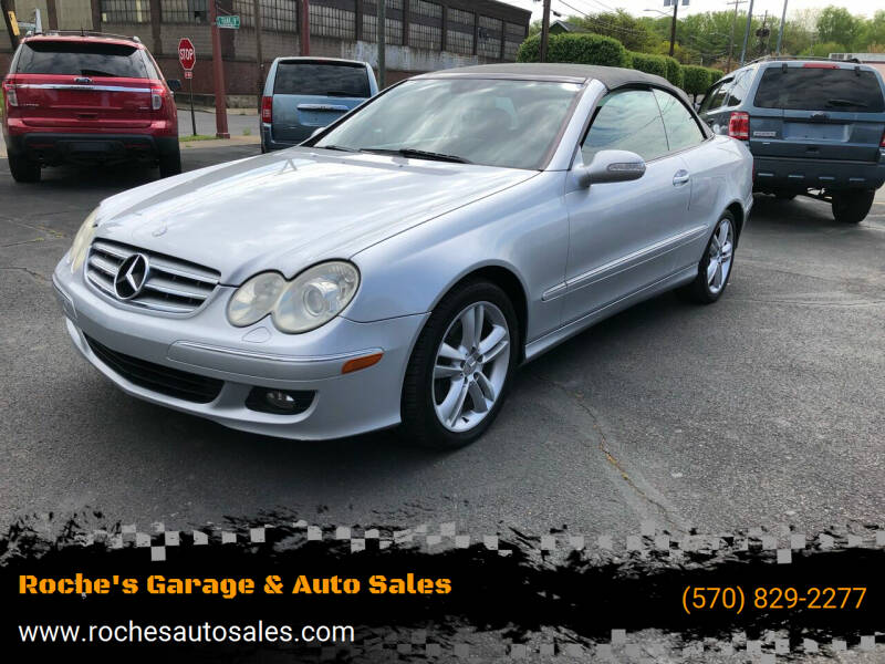 2006 Mercedes-Benz CLK for sale at Roche's Garage & Auto Sales in Wilkes-Barre PA