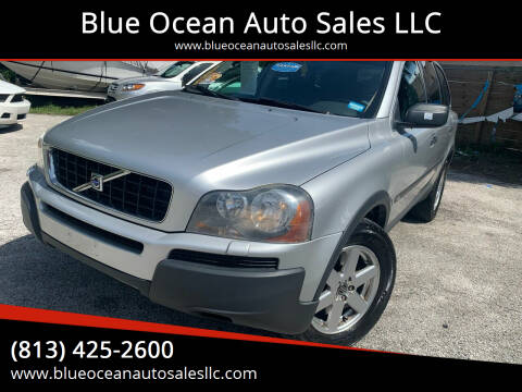 2005 Volvo XC90 for sale at Blue Ocean Auto Sales LLC in Tampa FL