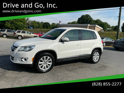 2009 Volkswagen Tiguan for sale at Drive and Go, Inc. in Hickory NC