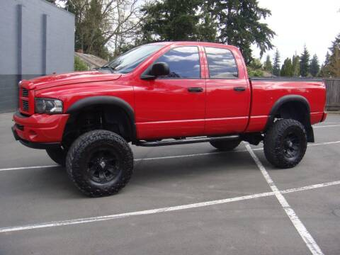 2003 Dodge Ram Pickup 2500 for sale at Western Auto Brokers in Lynnwood WA
