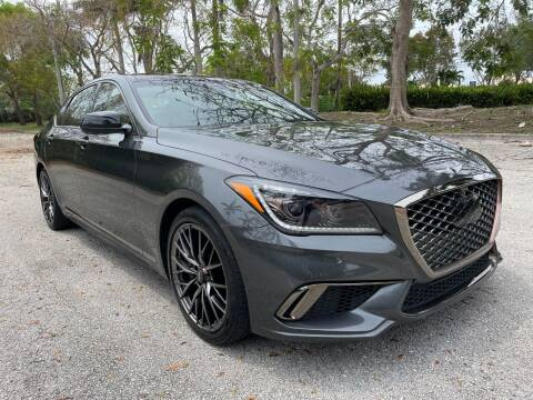 2018 Genesis G80 for sale at DELRAY AUTO MALL in Delray Beach FL