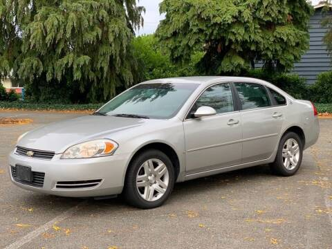 2007 Chevrolet Impala for sale at Q Motors in Tacoma WA