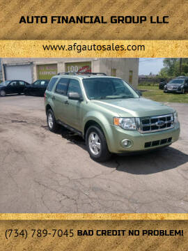 2008 Ford Escape for sale at Auto Financial Group LLC in Flat Rock MI