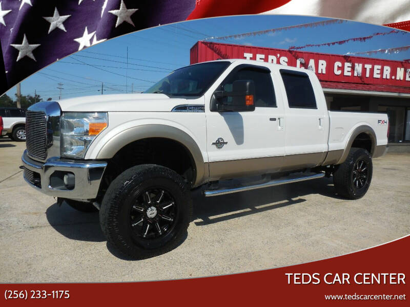 2011 Ford F-250 Super Duty for sale at TEDS CAR CENTER in Athens AL