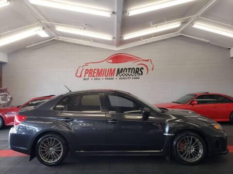 2011 Subaru Impreza for sale at Premium Motors in Villa Park IL