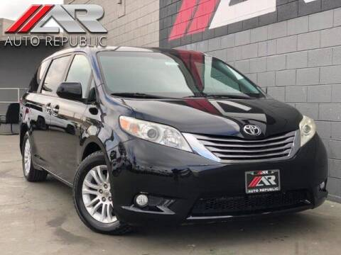 2015 Toyota Sienna for sale at Auto Republic Fullerton in Fullerton CA