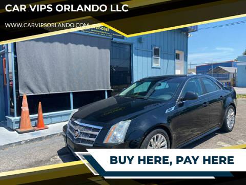 2010 Cadillac CTS for sale at CAR VIPS ORLANDO LLC in Orlando FL
