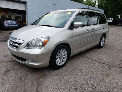 2005 Honda Odyssey for sale at Devaney Auto Sales & Service in East Providence RI