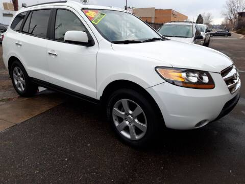 2008 Hyundai Santa Fe for sale at Sanaa Auto Sales LLC in Denver CO