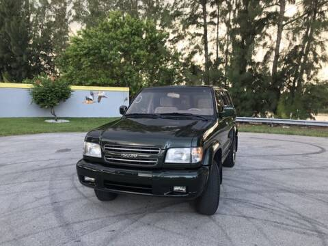 2001 Isuzu Trooper for sale at Exclusive Impex Inc in Davie FL