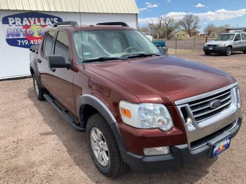 2010 Ford Explorer Sport Trac for sale at Praylea's Auto Sales in Peyton CO