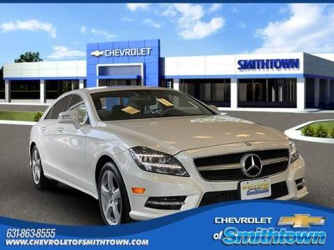 2014 Mercedes-Benz CLS for sale at CHEVROLET OF SMITHTOWN in Saint James NY