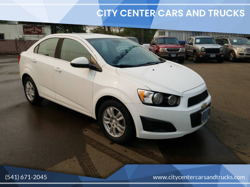 2013 Chevrolet Sonic for sale at City Center Cars and Trucks in Roseburg OR