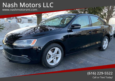 2013 Volkswagen Jetta for sale at Nash Motors LLC in Hudsonville MI