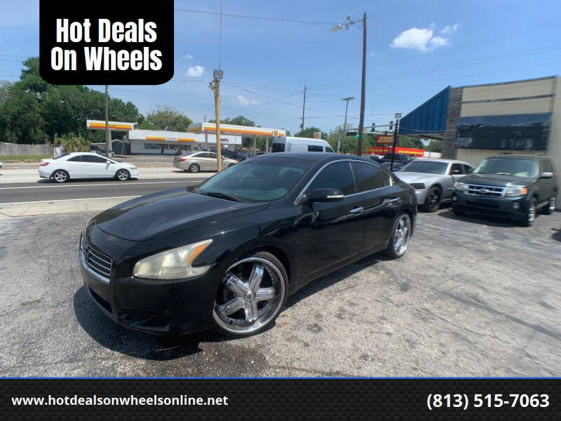 2009 Nissan Maxima for sale at Hot Deals On Wheels in Tampa FL