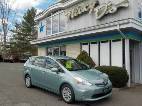 2013 Toyota Prius v for sale at Nicky D's in Easthampton MA
