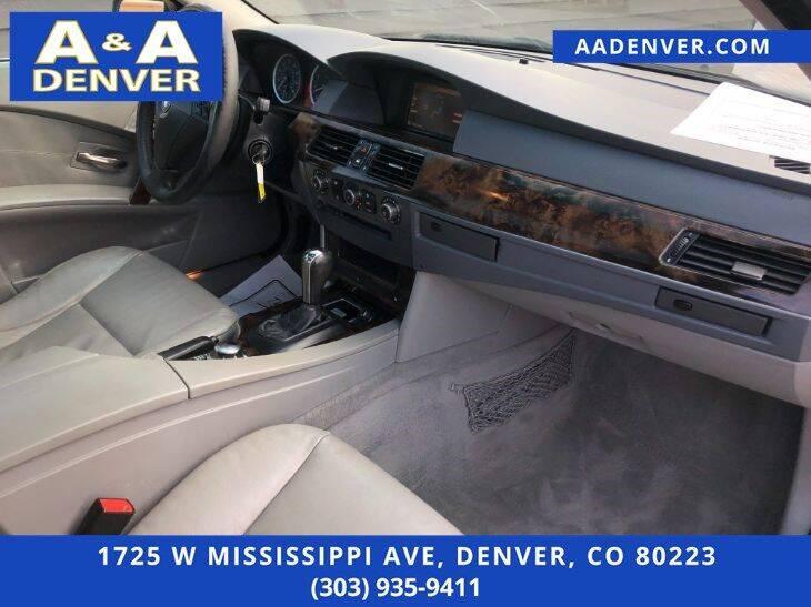2006 BMW 5 Series AWD 530xi 4dr Sedan - Denver CO