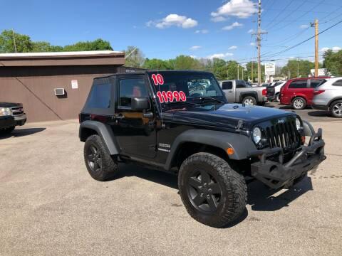 2010 Jeep Wrangler for sale at Bob's Imports in Clinton IL