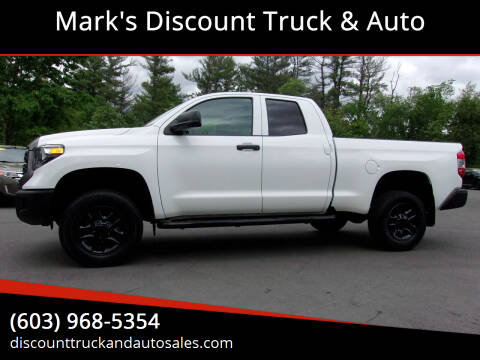 2019 Toyota Tundra for sale at Mark's Discount Truck & Auto in Londonderry NH