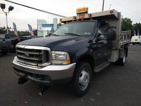 2003 Ford F-550 Super Duty for sale at P J McCafferty Inc in Langhorne PA