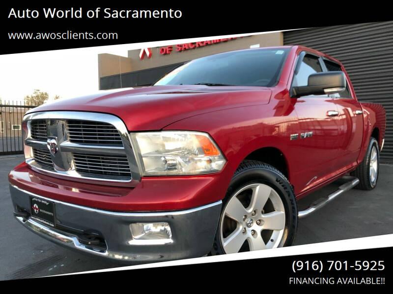 2010 Dodge Ram Pickup 1500 for sale at Auto World of Sacramento Stockton Blvd in Sacramento CA