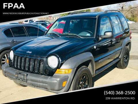 2007 Jeep Liberty for sale at FPAA in Fredericksburg VA