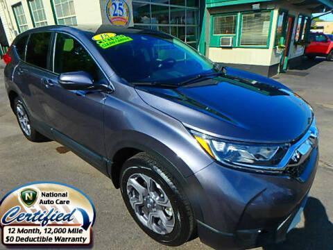 2018 Honda CR-V for sale at Jon's Auto in Marquette MI