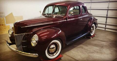 1940 Ford Deluxe for sale at Midwest Classic Car in Belle Plaine MN