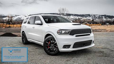 2018 Dodge Durango for sale at MUSCLE MOTORS AUTO SALES INC in Reno NV