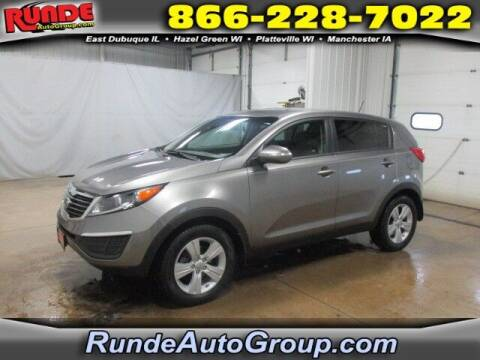 2013 Kia Sportage for sale at Runde Chevrolet in East Dubuque IL