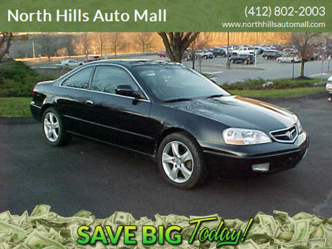 2001 Acura CL for sale at North Hills Auto Mall in Pittsburgh PA