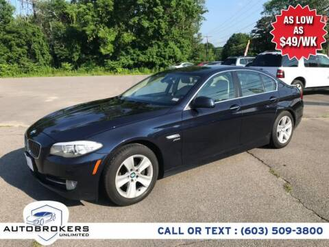 2012 BMW 5 Series for sale at Auto Brokers Unlimited in Derry NH