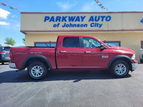2013 RAM Ram Pickup 1500 for sale at PARKWAY AUTO SALES OF BRISTOL - PARKWAY AUTO JOHNSON CITY in Johnson City TN