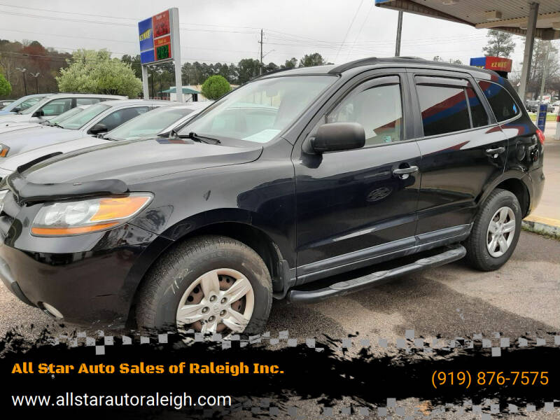 2009 Hyundai Santa Fe for sale at All Star Auto Sales of Raleigh Inc. in Raleigh NC