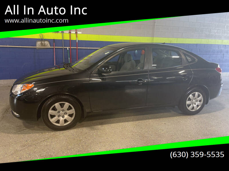 2009 Hyundai Elantra for sale at All In Auto Inc in Palatine IL
