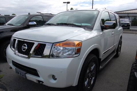 2013 Nissan Armada for sale at Modern Motors - Thomasville INC in Thomasville NC