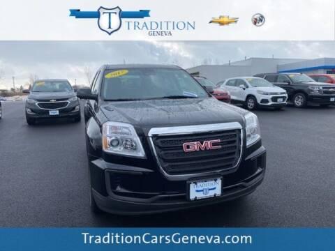 2017 GMC Terrain for sale at Tradition Chevrolet Buick in Geneva NY