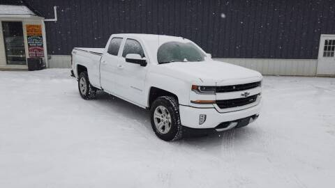2018 Chevrolet Silverado 1500 for sale at RS Motors in Falconer NY