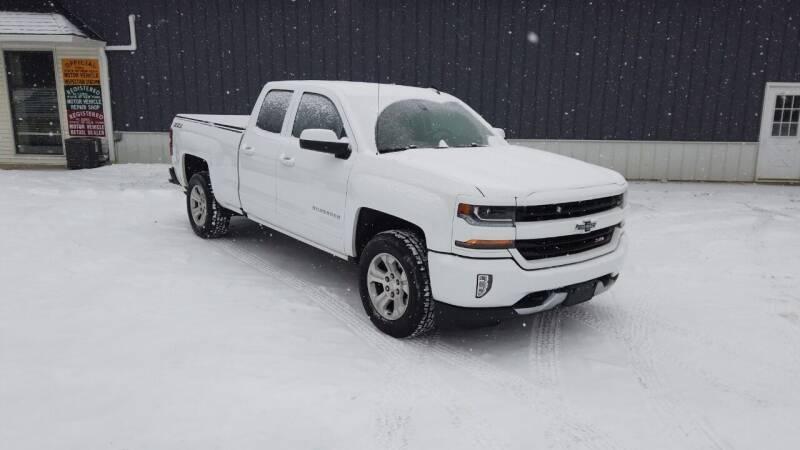 2018 Chevrolet Silverado 1500 for sale at RS Motors in Falconer NY